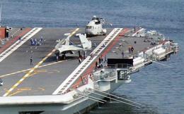 Bất ngờ rò rỉ ảnh tàu sân bay nội địa đầu tiên của Trung Quốc chuẩn bị hoạt động