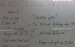 Họp lớp để giải quyết mâu thuẫn, cô giáo tá hỏa trước 1001 lý do gây xung đột lớp học của học trò mình