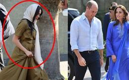 Công nương Kate tỏa sáng trong ngày đầu tới Pakistan, khiến em dâu Meghan Markle phải xấu hổ vì hình ảnh tương phản này