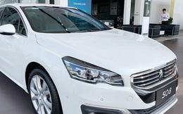 Đẩy hàng tồn, Peugeot 508 giảm giá kỷ lục, xuống nước trước Toyota Camry và Honda Accord mới