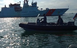 Tàu tuần duyên Mỹ tham gia tập trận gần quần đảo Trường Sa