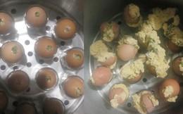Cô gái học theo trên mạng làm món trứng hấp và cái kết khiến nhiều người chỉ muốn 'buông bát đũa'