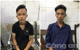 Hình sự truy đuổi bắt gọn 2 tên cướp giật ở trung tâm Sài Gòn