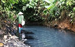 Khó hiểu đường đi của xe ôtô đổ dầu xuống nguồn nước sông Đà