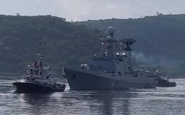Tàu chiến Ấn Độ và Thái Lan bắt đầu tập trận hải quân chung
