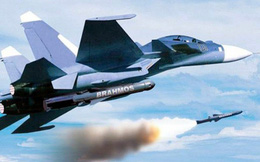 Tiêm kích Su-30MKI được trang bị tên lửa chống hạm Brahmos, cực khó đánh chặn
