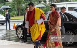 Cộng đồng mạng phát sốt với vẻ đẹp 'thoát tục' không góc chết của Hoàng hậu Bhutan ở Nhật Bản khi tham dự lễ đăng quang