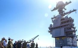 """Hé lộ thời điểm """"siêu"""" tàu sân bay hạt nhân CVN-78 của Mỹ  sẽ """"nhập biên"""""""