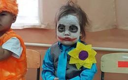 Xưa có Vô Diện, nay đã có cô bé Joker soán ngôi màn hóa trang Halloween cute nhất!