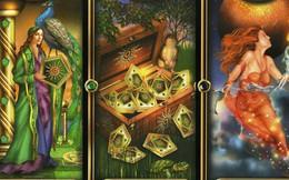 """Rút một lá bài Tarot để biết ai sẽ là quý nhân phù trợ đem """"cơn mưa tiền tài"""" đến cho bạn trong cuối năm này"""