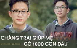 Gặp nam sinh kiếm cho mẹ 1000 con dâu sau khi xuất hiện trên VTV: Đời chỉ cần 2 cốc trà chanh 10K với những người bạn 'mặn mà' là vui lắm rồi