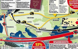 3 tuyến đường 'chết chóc' đưa lậu người từ Trung Quốc sang Anh