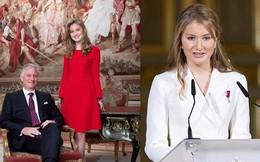 Chân dung nàng Công chúa đẹp tựa nữ thần vừa tròn 18 tuổi, sinh ra đã ở vạch đích, gánh trên vai vận mệnh của Hoàng gia Bỉ