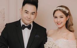 'Streamer giàu nhất Việt Nam' Xemesis mới tung ảnh cưới: Cô dâu kém 13 tuổi đẹp xuất sắc, chú rể xuất hiện đúng một lần