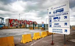 Cảng Bỉ nơi container chở 39 người nhập cư đi qua không quét ảnh tầm nhiệt