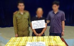 Bắt đối tượng vận chuyển 120 nghìn viên ma túy tổng hợp về Việt Nam tiêu thụ