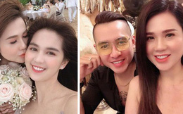Chị gái Ngọc Trinh mở tiệc kỷ niệm một năm ngày cưới với chồng 2 nhưng nhan sắc bầu bí 8 tháng của cô mới là điều đáng bàn