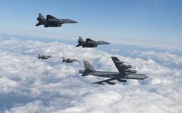 """Mỹ vừa có hành động """"dằn mặt"""" Triều Tiên bằng oanh tạc cơ B-52"""