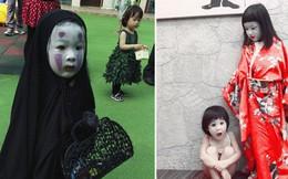 Cô bé Vô Diện năm nào giờ đã lớn bổng, tiếp tục tái xuất với màn hóa trang Halloween cực độc