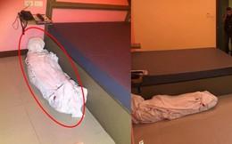 Bước vào dọn phòng, nhân viên khách sạn phát hiện ra thi thể nằm dưới sàn, cảnh sát vào cuộc cũng ngã ngửa khi biết sự thật