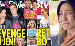 """Xôn xao tin Brad Pitt bắt cá nhiều tay, Angelina Jolie cặp kè tài tử """"Thiên thần Charlie"""" để trả thù Jennifer Aniston"""