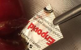 Lại một người thủng ruột do 'nuốt nhầm' vỏ thuốc