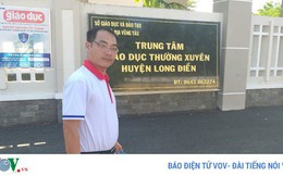 Bắt nguyên Giám đốc, Phó Giám đốc Trung tâm GDTX huyện Long Điền