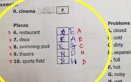 Đánh trắc nghiệm đúng hết rồi sửa lại thành sai, nam sinh nhận lấy cú đắng trong bài kiểm tra