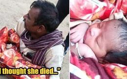 Nhận được tin báo về 2 người đàn ông khả nghi, cảnh sát Ấn Độ chặn đứng âm mưu chôn sống trẻ sơ sinh đầy ghê rợn