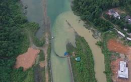 Hà Nội phát hiện Công ty nước sông Đà xả hàng ngàn m3 nước súc rửa bể chứa ra suối