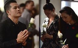 Việt Tú, Khải Anh cùng nhiều nghệ sĩ Việt xót xa tới dự đám tang của con gái đạo diễn 'Những ngọn nến trong đêm'