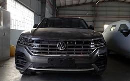 Tịch thu ôtô Volkswagen nhập từ Trung Quốc có định vị đường lưỡi bò