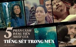 """5 phân cảnh gây sốc của Tiếng Sét Trong Mưa: Không gì chấn động bằng màn cưỡng bức """"cô chủ - chàng hầu"""""""