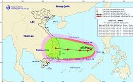 Bão NAKRI (bão số 6) có đường đi rất dị thường và vô cùng nguy hiểm!