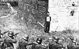 Du kích kháng chiến Pháp mỉm cười trước họng súng đội xử bắn của Đức