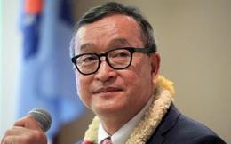 Ông Sam Rainsy tuyên bố về Campuchia vào ngày 9.11