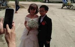 """Đám cưới của cặp đôi tí hon từng bị nhầm là """"con nít ranh"""" chính thức tổ chức tại quê nhà, vẻ lạ lẫm của cô dâu mới khiến MXH chú ý"""