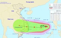 Xuất hiện 4 cơn bão liên tiếp khiến bão số 6 diễn biến rất phức tạp