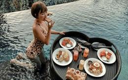 """Vợ hai Minh Nhựa đăng trọn vẹn bộ ảnh Bali nhưng có một tấm hình khiến người sợ độ cao phải """"dựng tóc gáy"""""""
