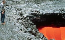 Cụ ông 71 tuổi mất mạng vì rơi vào hố dung nham núi lửa