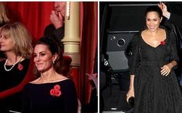 Xuất hiện trong cùng một sự kiện, Công nương Kate thể hiện đẳng cấp vượt trội so với em dâu còn Meghan Markle muối mặt vì trang phục phản cảm