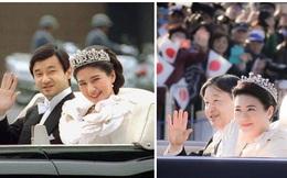 Vợ chồng Nhật hoàng Naruhito diễu hành ra mắt dân chúng, Hoàng hậu Masako gây choáng ngợp với vẻ đẹp rạng rỡ hệt như ngày đầu làm dâu hoàng gia