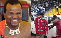Dù đất nước nghèo đói, quốc vương châu Phi vẫn vét ngân khố mua 19 xe sang Rolls Royce cho mình và 15 người vợ