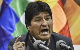 Nhà lãnh đạo Evo Morales gửi thông điệp đầu tiên sau khi từ chức