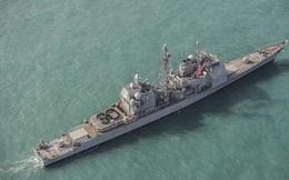Mỹ điều tuần dương hạm mang tên lửa dẫn đường đi qua Eo biển Đài Loan
