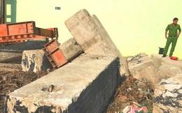Xót xa công nhân bị khối bê tông đè chết thảm