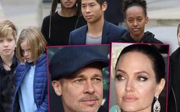 """Hậu ly hôn 3 năm: Angelina Jolie vẫn tìm cách """"hành"""" chồng cũ, lợi dụng con cái chống lại Brad Pitt?"""