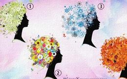 Chọn hình ảnh người phụ nữ yêu thích để khám phá tính cách đặc trưng của bản thân dựa theo bốn mùa trong năm