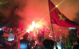 Hàng nghìn cảnh sát Hà Nội chống đua sau trận Việt Nam - UAE
