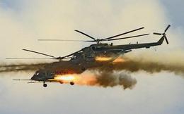 Video: Trực thăng tấn công Mi-8 phóng tên lửa 'xé nát' mục tiêu ở Kyrgyzstan